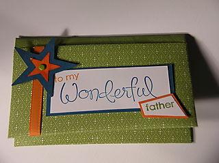 Gift Card holder-front