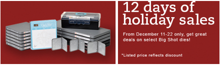 12 Days of Holiday Sales!