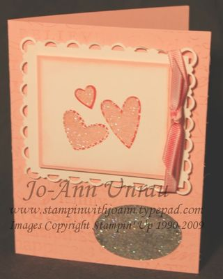 Heart Window card