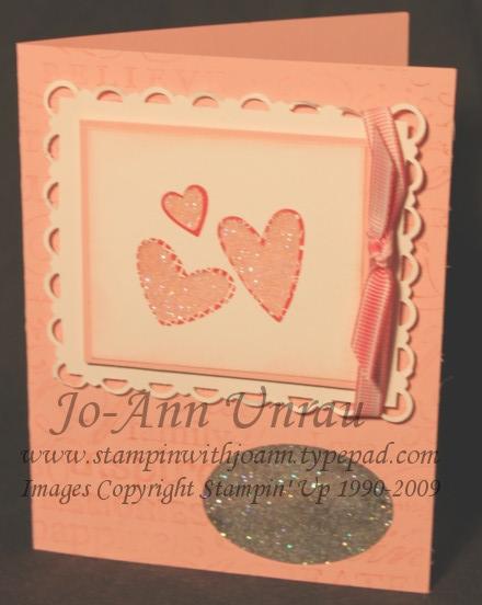 Heart Window card