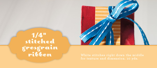 Stitched Grosgrain Ribbon Swap